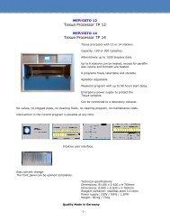 13 Tissue Processor TP 12