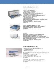 16 Tissue Embedding Center 2 Seite