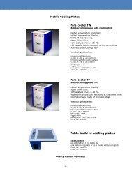 18 Kühlplatten