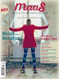 maaS No.1 Blick ins Heft