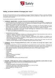 Voir le PDF - Industrie 2012