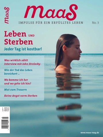 maaS No.3 Blick ins Heft