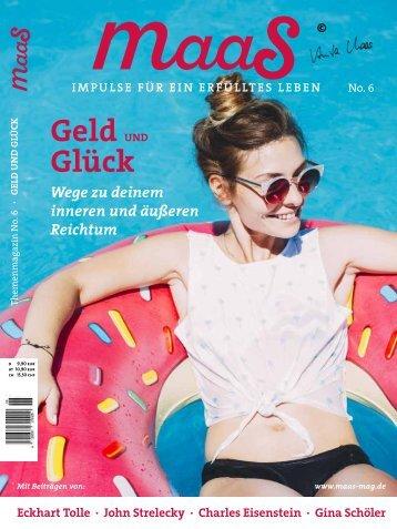 maaS No.6 Blick ins Heft
