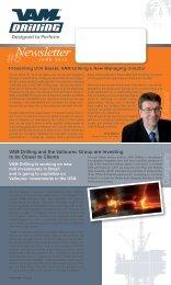 Newsletter #8 - VAM Drilling