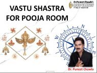 VASTU SHASTRA FOR POOJA ROOM