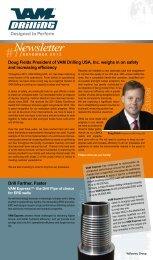 Newsletter #17 - VAM Drilling