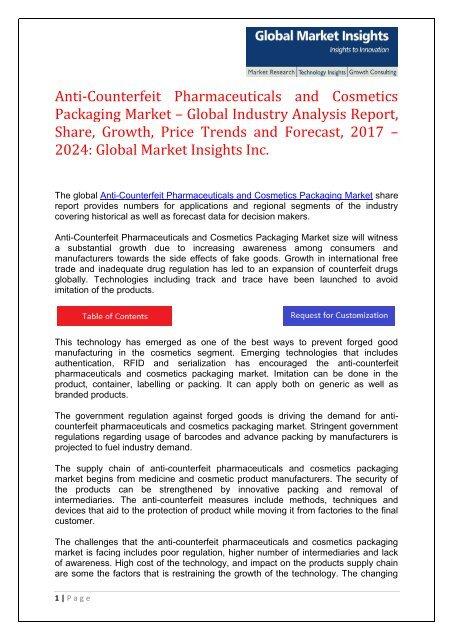 PDF - Anti-Counterfeit Pharmaceuticals and Cosmetics