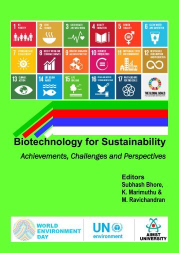 Biotechnology for Sustainability: Achievements, Challenges and Perspectives