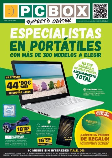 Folleto PCBOX hasta 21 de Agosto 2017