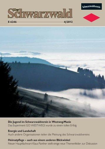 Die Jugend im Schwarzwaldverein in Westweg-Manie Das ...