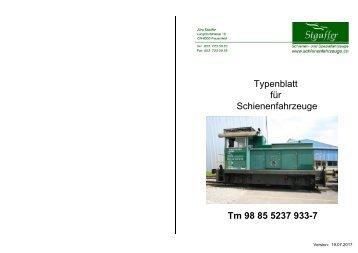 Typenblatt
