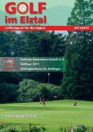 Wir danken folgenden Per - Golfclub Gütermann Gutach e.V.
