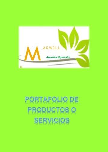 Catàlogo de amenities biodegradables