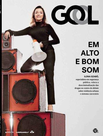 Revista Gol com Ilona Szabó -  julho de 2017