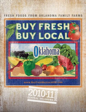 FRESH FOODS FROM OKLAHOMA FAMILY FARMS - Kerr Center
