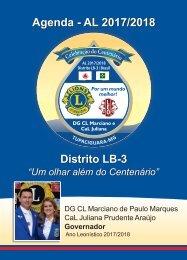 Agenda Centenário Lions 2017 - Distrito LB-3
