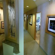 Hallway at La Mesa cosmetic dentist Trinity Family Dental