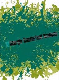Georgia-Cumberland Academy - Fountain Reveries - 2011