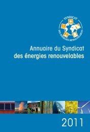Annuaire du SER 2011 télécharger le document - Syndicat des ...