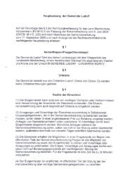 Hauptsatzung der Gemeinde Ludorf Auf der Grundlage des ä 5 der ...