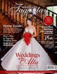 Weddings Tagaytay Vol. 3 Issue 1 July 2017-2019