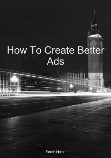 eBook - How To Create Better Ads