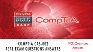CAS-002 VCE Questions Dumps