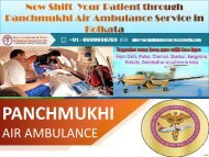 Call Now Any Emergency by Panchmukhi Air Ambulance Kolkata