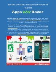 Benefits of Hospital Management System for Hospitals