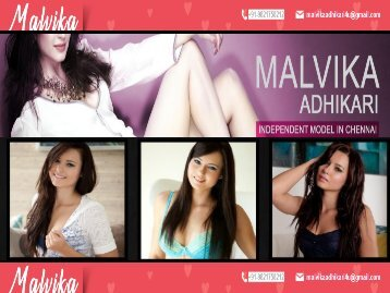 MALVIKA ADHIKARI hot dating services Chennai
