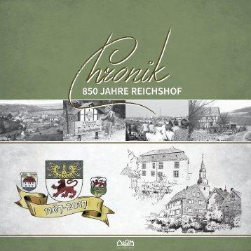 Chronik - 850 Jahre Reichshof