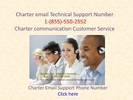 charter email customer service