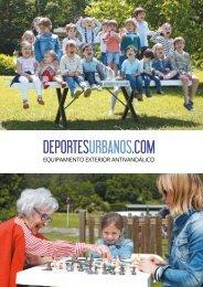 Catálogo de Equipamiento Deportivo Antivandálico de Exterior de Deportes Urbanos