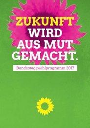 Das Wahlprogramm der Grünen