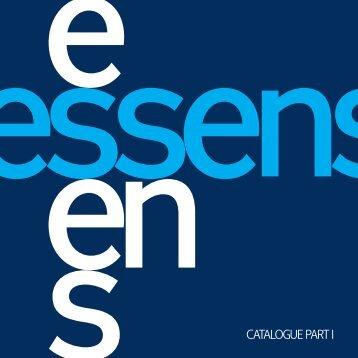 ESSENS - Katalog I.