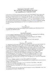 Satzung der Gemeinde Ludorf über Stundung, Niederschlagung und