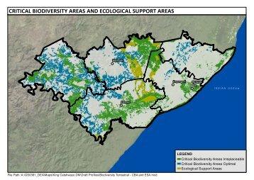 Biodiversity Terrestrial - CBA and ESA