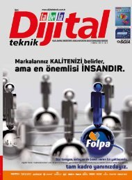 Dijital Teknik Dergisi – Temmuz 2017 Sayısı