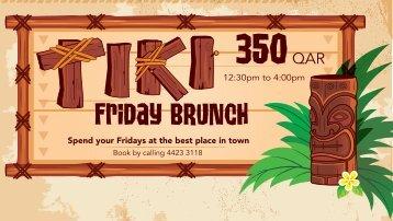 Tiki Friday Brunch