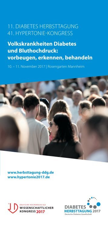Flyer Diabetes Herbsttagung 2017
