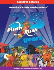 Fall 2017 Catalog for Plush in a Rush