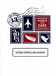Georgia-Cumberland Academy - Fountain Reveries - 2013
