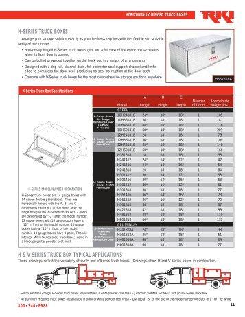 Truck Box Literature 11