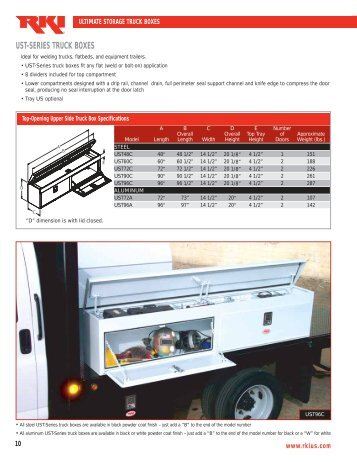 Truck Box Literature 10
