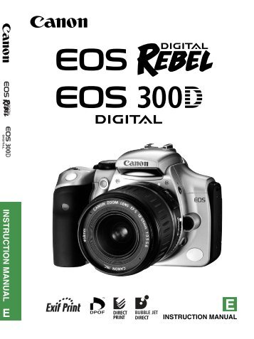 lightroom 1 1 and canon digital rebel 300d live graphic services rh yumpu com Canon EOS 300D Review Canon EOS 300D Tripods