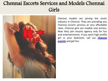 Chennai Escorts Services and Models Chennai Girls