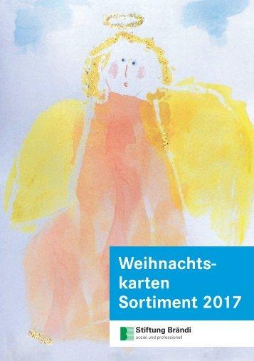 Stiftung Brändi Weihnachtskarten 2017