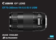 Canon EF 70-300mm f/4-5.6 IS II USM - EF 70-300mm f/4-5.6 IS II USM