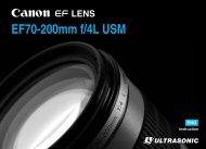 Canon EF 70-200mm f/4L USM - EF 70-200mm f/4L USM