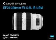 Canon EF 70-300mm f/4-5.6L IS USM - EF 70-300mm f/4-5.6L IS USM